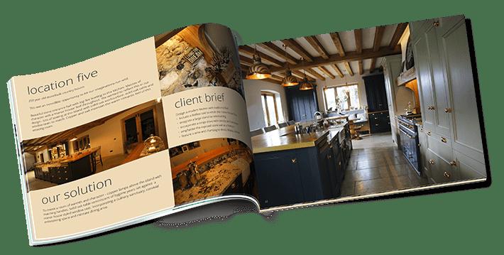 Bespoke kitchen brochure